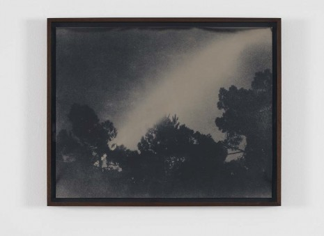 Lisa Oppenheim, Passage of the moon over two hours, Arachon, France Ca. 1870s/2012, April 12, 2012, Harris Lieberman (closed)