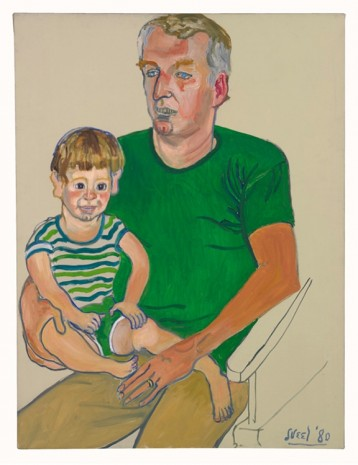 Alice Neel, Kevin and Andy, 1980, David Zwirner