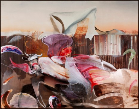 Adrian Ghenie, The Farm, 2019, Tim Van Laere Gallery