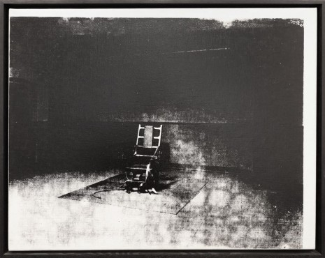 Andy Warhol, Little Electric Chair , 1964 , Petzel Gallery
