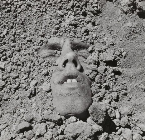 David Wojnarowicz, Untitled (Face in Dirt), 1991/2018, Petzel Gallery