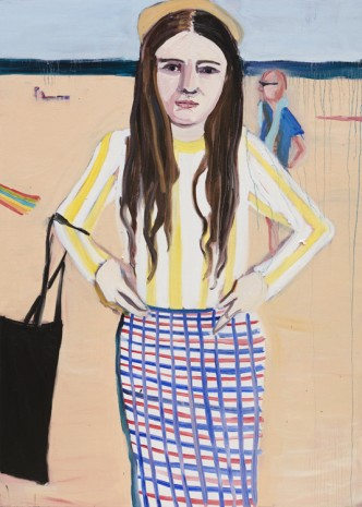 Chantal Joffe, Coney Island, 2018 , Victoria Miro