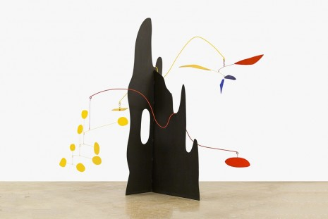 Alexander Calder, Crag with Petals and Yellow Cascade, 1974, Venus Over Manhattan