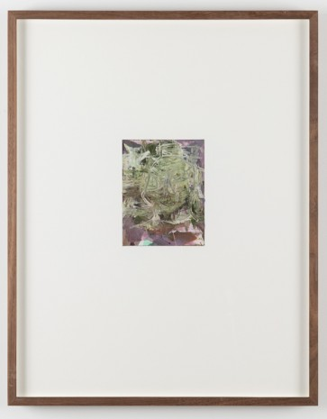 Olav Christopher Jenssen, The Very Small Rubicon Paintings No. 07, 2019, Galleri Riis