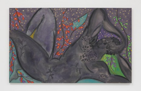 Chris Ofili, Sleeper (Odysseus), 2019 , David Zwirner