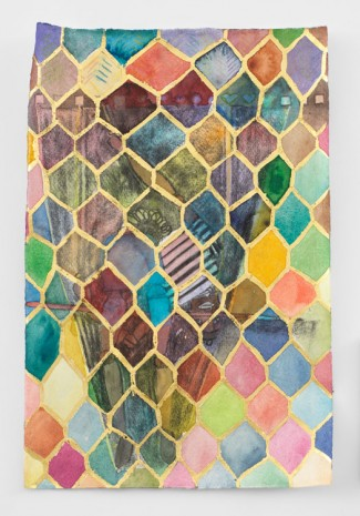 Chris Ofili, Untitled, 2019 , David Zwirner
