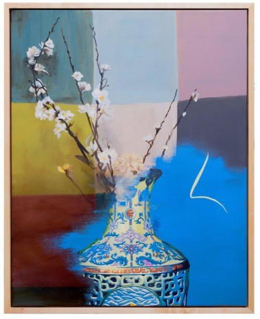 Keith Tyson, Still Life with Qianlong Vase, 2018 , Hauser & Wirth
