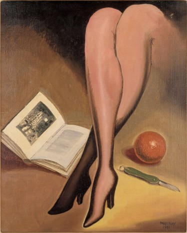 Man Ray, Apple, Book, Knife, Legs, 1941 , Hauser & Wirth