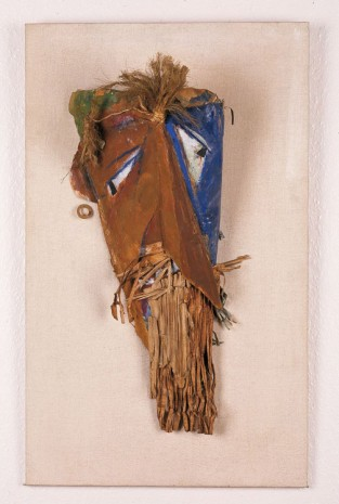 Marcel Janco, Mask for Firdusi, 1917-1918 , Hauser & Wirth