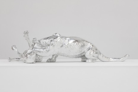 Charles Ray, Mountain Lion Attacking a Dog, 2018 , Matthew Marks Gallery