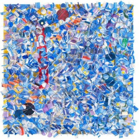 Howardena Pindell, Untitled #59, 2010 , Victoria Miro Gallery