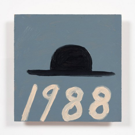 Stephen W. Evans, Hat with Date, 2019 , Steve Turner