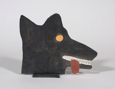 Stephen W. Evans, Head of a Wolf, 2018 , Steve Turner