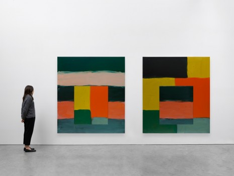 Sean Scully, Vice Versa Green, 2019 , Lisson Gallery