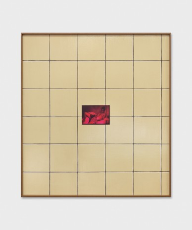 Valentin Carron, Wall Tile And Chroma, 2019 , 303 Gallery