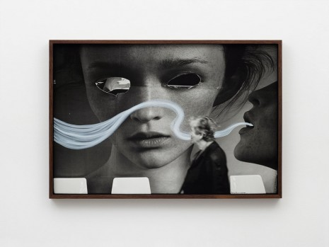 Ed Templeton, Paris France billboard eyes woman, 2003, 2019 , NILS STÆRK