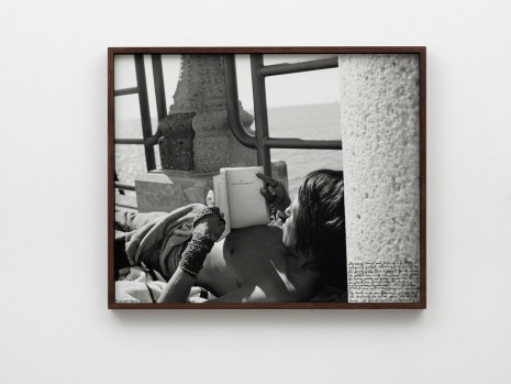 Ed Templeton, Man Reading Bible HB pier, 2017, 2019 , NILS STÆRK