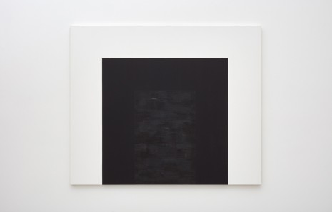 Mary Corse, Untitled (Black Double Arch), 1997 , Tanya Bonakdar Gallery