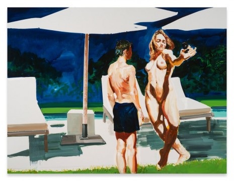 Eric Fischl, The Artists Assistant, 2018, Sprüth Magers