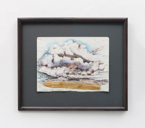 Elizabeth Magill, clouds over Stockholm, 2014 , Kerlin Gallery
