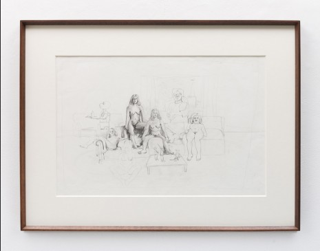 Stephen McKenna , Nude Figures, 1970 , Kerlin Gallery