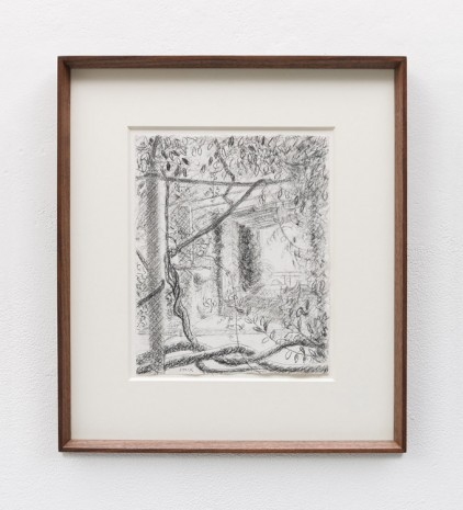 Stephen McKenna , Foliage with Window at Terni, 1996 , Kerlin Gallery