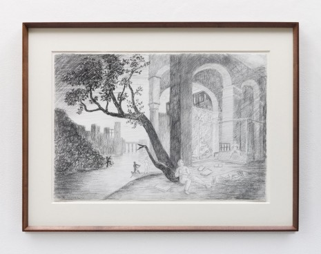 Stephen McKenna , Study for the Temptation of St Anthony, 2014 , Kerlin Gallery