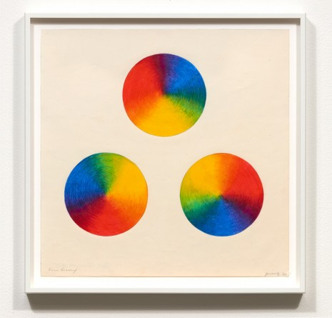 Judy Chicago, Dome Drawing, 1968 , Galerie Barbara Thumm