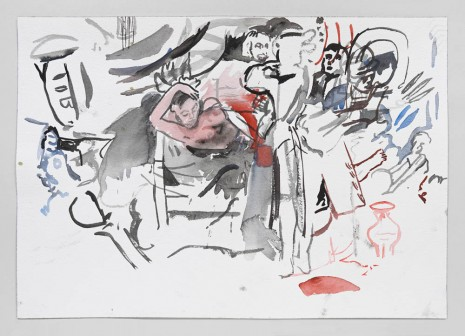 Cecily Brown, Untitled (After Beckmann), 2012 , Contemporary Fine Arts - CFA