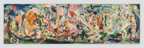 Cecily Brown, Green Grow the Lilacs but Lavender's Blue, 2018-2019 , Contemporary Fine Arts - CFA