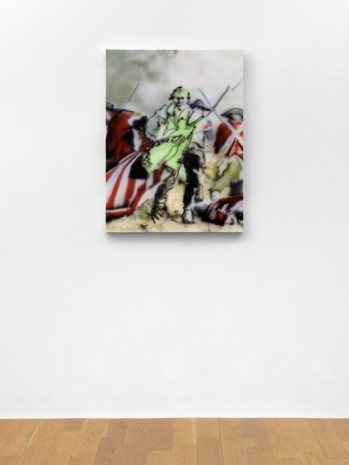 Jamian Juliano-Villani, What I know about the Revolutionary War, 2019, Massimo De Carlo