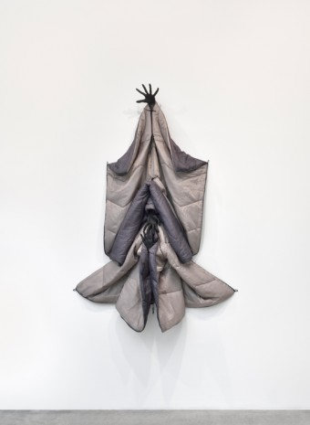 Annette Messager, Sleeping Double Grey, 2017