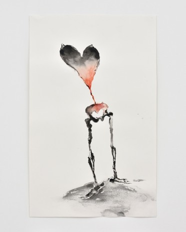 Annette Messager, Coeur Squelette (Heart Skeleton), 2019