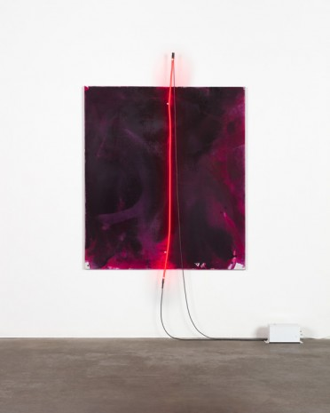 Mary Weatherford, Ruby, Ruby, 2019 , Gagosian