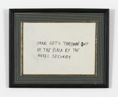 Karen Kilimnik, Jane Creep (Hotel Security), 1990 , 303 Gallery