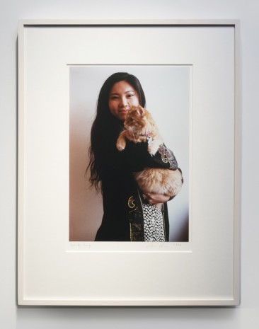 Dan Graham, Wendy with Cat, 1996 , 303 Gallery