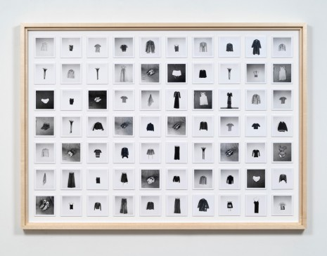 Hans-Peter Feldmann , All the clothes of a woman, , 303 Gallery