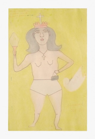 Joseph Elmer Yoakum, The only woman ruler of Assirea Asia Se., 1970, Venus Over Manhattan