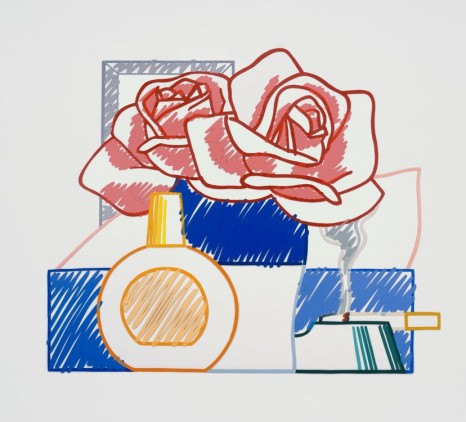 Tom Wesselmann, Scribble Version of Still Life #58 (Opaque), 1984–91 , Gagosian