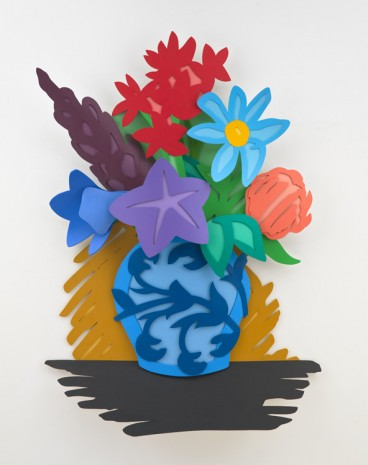 Tom Wesselmann, Mixed Bouquet (Filled In), 1993 , Gagosian