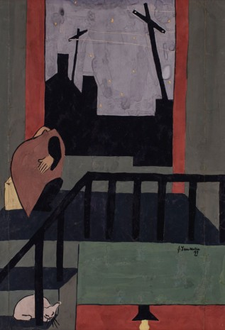 Jacob Lawrence, Christmas in Harlem, 1937 , Galerie Thaddaeus Ropac