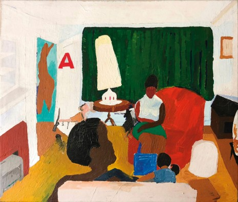 Henry Taylor, Untitled (living room with Mama), 2004 , Galerie Thaddaeus Ropac