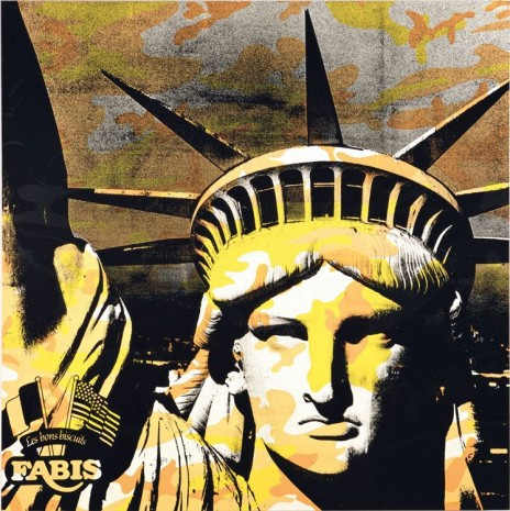 Andy Warhol , Statue of Liberty, 1986, Galerie Thaddaeus Ropac