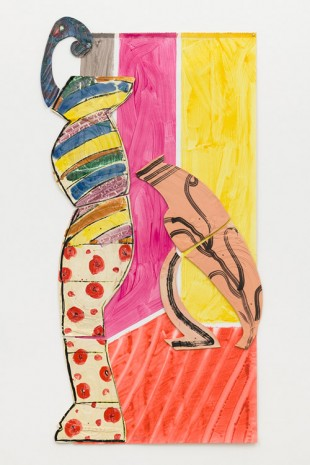 Betty Woodman, Lady and Leaning Vase, 2011 , David Kordansky Gallery