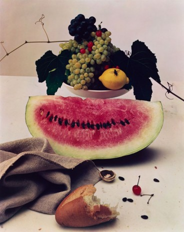 Irving Penn, Still Life with Watermelon, New York, 1947 , Galerie Thaddaeus Ropac