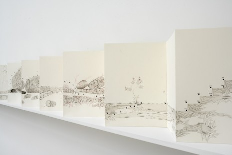 Imran Qureshi, The True Path, 2009 , Galerie Thaddaeus Ropac