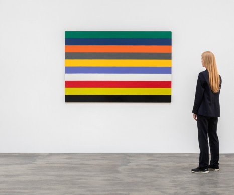 Poul Gernes, Untitled (Stripe painting), 1966 - 1967, Galleri Nicolai Wallner