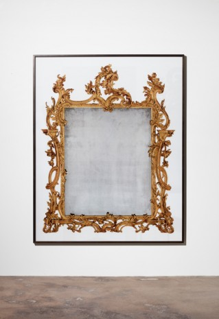 A Kassen, Mirror #2, 2013, Galleri Nicolai Wallner