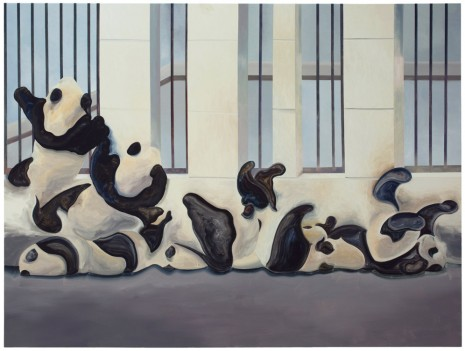 Guo Hongwei, Panda Variation, 2018, Simon Lee Gallery