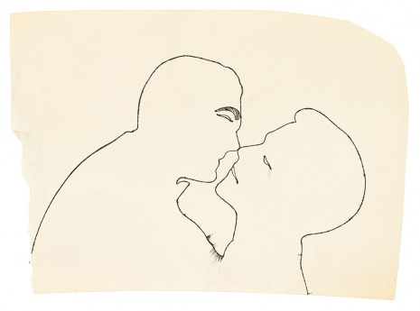 Andy Warhol, Kissing Couple, ca. 1954 , Galerie Buchholz